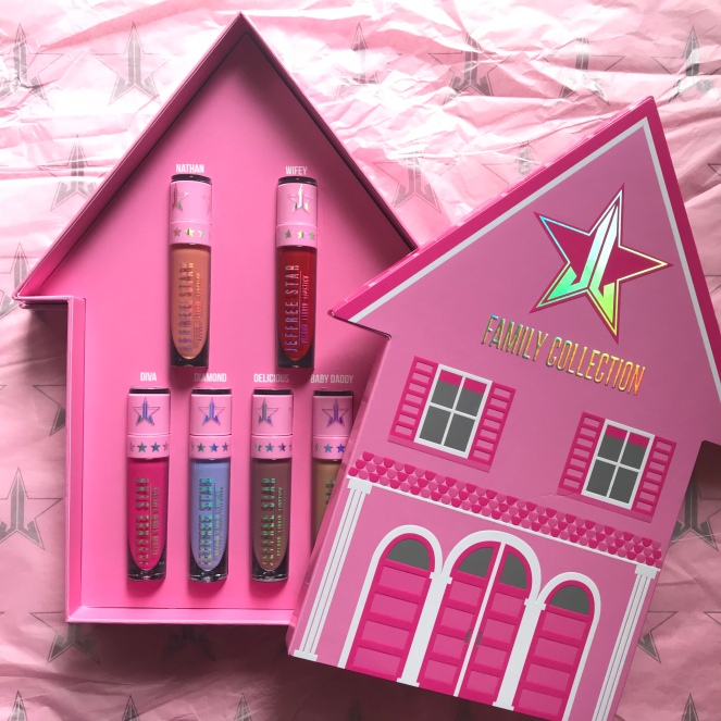Jeffree Star Cosmetics Star Family Collection 2017